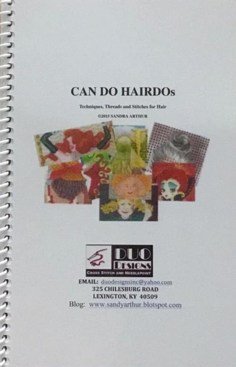 Can Do Hairdos Book by Sandra Arthur