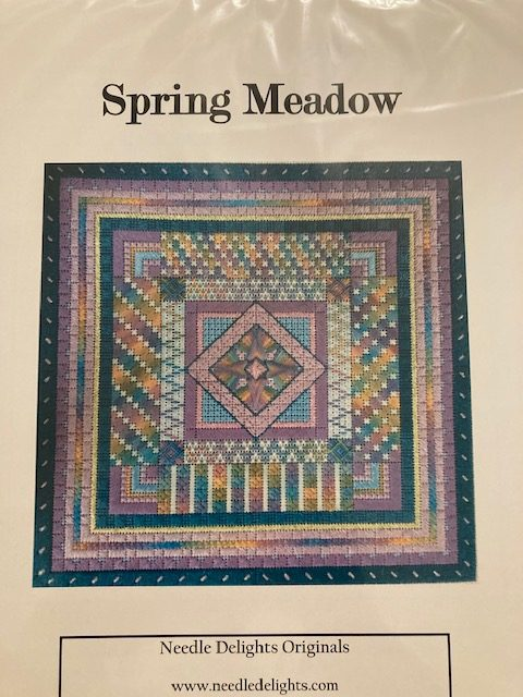 Spring Meadow Chart by Needle Delights Originals